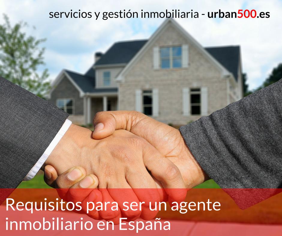 Requisitos para ser agente inmobiliario en espa a y trabajar en agencia inmobiliaria - Agente inmobiliario madrid ...